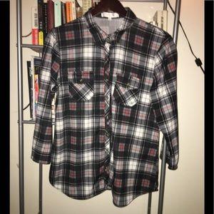 Eden & Olivia Women's Flannel Button Up